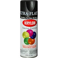 Krylon Ultra Flat Black Paint