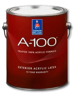A 100 Exterior Acrylic Latex Paint