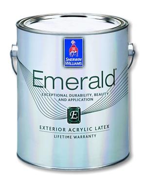Genial Emerald Exterior Acrylic Latex Paint